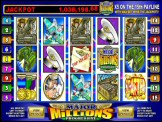 Major Millions Progressive Jackpot Video Slot
