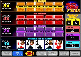 Multi Strike Video Poker